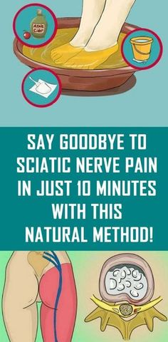 goodbye to sciatic nerve pain in just 10 minutes with this natural method!Say goodbye to sciatic nerve pain in just 10 minutes with this natural method! Sciatic Nerve, Nerve Pain, Sciatica Pain, Sciatica Relief, Cervical Cancer, Healthy Beauty, Healthy Tips, Natural Cures, Natural Healing