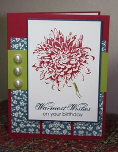 CC387 Colorful Birthday by CAKath - Cards and Paper Crafts at Splitcoaststampers