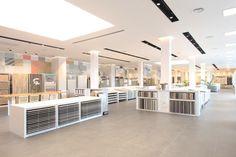 Tubul Ceramics showroom by Studio Samuelov, Modi'in – Israel » Retail Design Blog