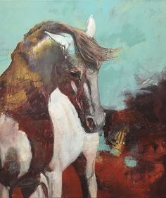 Karen Roehl Fine Art Paintings | HORSES #one4onedesign #plantplatecreate #ColoradoArtists