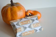 Halloween Treat Boxes  Set of 4 by PaperWondersShop on Etsy