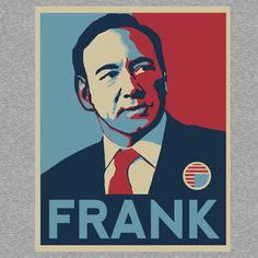 """""""House of Cards FRANK"""" T-Shirts & Hoodies by SKIDSTER 