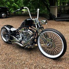 Harley Bobber, Harley Bikes, Harley Davidson Bikes, Custom Choppers, Custom Bobber, Chopper Motorcycle, Bobber Chopper, Softail Bobber, Motorcycle Style
