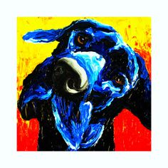 Great Dane Dog Print of Original Painting Wall by RMBArtStudio Dog Paintings, Original Paintings, Great Dane Puppy, Dog Tattoos, Dog Portraits, Illustrations, Dog Art, Painting Inspiration, Les Oeuvres