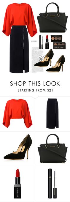 """""""Womanliness Style"""" by fsjamazon ❤ liked on Polyvore featuring STELLA McCARTNEY, A.L.C., MICHAEL Michael Kors, Smashbox and Lancôme"""