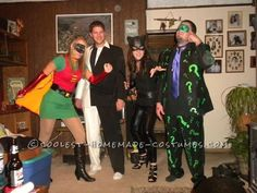 The Villians from Batman Group Costume... This website is the Pinterest of costumes
