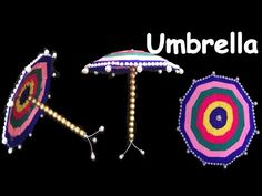 DIY - How to make Umbrella For Ganesha?Ganesh Chaturthi/ Home decoration ideas/ kids craft ideas. Diy For Kids, Crafts For Kids, Ganesh Chaturthi Decoration, Ganesha, School Projects, Home Goods, Sewing Patterns, Craft Ideas, Homemade