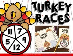 free thanksgiving math center, thanksgiving activities, thanksgiving math, first grade thanksgiving game Math Activities For Kids, First Grade Activities, 1st Grade Math, Fun Math, Grade 1, Second Grade, Maths, Holiday Classrooms, Classroom Ideas