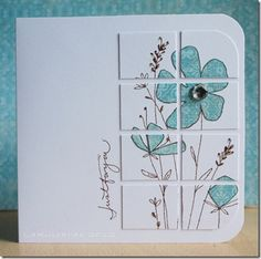 6/25/2012; Kerry at 'Lakulcards' blog; Paper Piecing