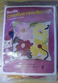 BUCILLA Creative Needlecraft Kit 1933 BOLD GARDEN by TheDarkOrchid