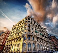 Hotel in Naples, Italy. Photo by Valerio P. (Valpopando) on flickr.
