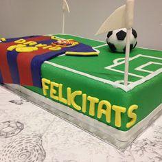 una chispa de dulzura: Tarta Barça