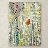 """Found it at Wayfair - """"Alpha"""" by Sylvie Demers Painting Print on Wrapped Canvas"""