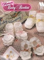 Annies Attic Heirloom Baby Booties to Crochet | Uppercase - Patterns on ArtFire