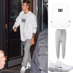 Star Style Man - Justin Bieber wearing Purpose Tour Onepiece and Nike  Celebrity men's fashion at www.starstyleman.com