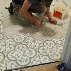 cheverny blanc encaustic cement wall