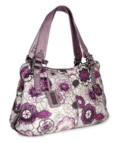 Loving this Beige Floral Alli Shoulder Bag on #zulily! #zulilyfinds