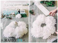 Помпоны своими руками: композиция на стол — Свадебный портал Marry