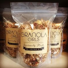 Granola Girls have new packaging for our stockist! Now you can see more of our…