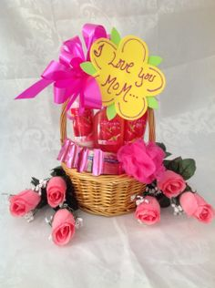 Mothers day basket.