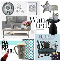 My mood today by frenchfriesblackmg on Polyvore featuring interior, interiors, interior design, home, home decor, interior decorating, Gervasoni, Dot