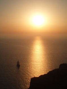 Greece -Santorini's Sunset by FikariMaria