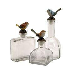 Bird Bottles.