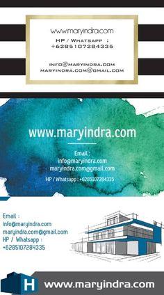 Kami dapat membantu Anda dalam membuat desain dan mencetak kartu nama dengan kualitas tinggi dan desain yang menarik. Hubungi kami : Whatsapp / sms : +62 851 0728 4335, email: info@maryindra.com / maryindra.com@gmail.com   http://www.maryindra.com/jasa-desain-dan-cetak-kartu-nama-online/desain-kartu-nama-perusahaan/