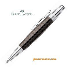 Faber-Castell e-motion Ballpoint Parquet Brown 148355
