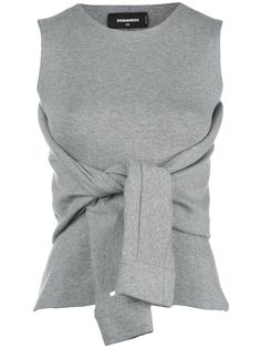 sweatshirt with silk bow - Grey Frame Denim Outlet Low Price GZzE80