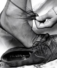 Prada S/S 1989 by Albert Watson 1989 shoes 1980s shoes