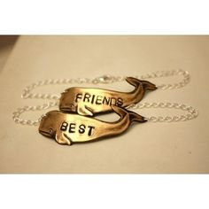 Me and my best friend need these!! (: Best Friends Bracelets ($48)