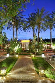 #zimmermanngoesto Ibiza restaurant Atzaró, dine under the stars