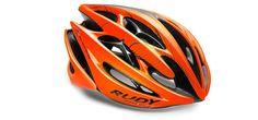 Rudy Project Cycling Helmet - STERLING ORANGE FLUO/BLACK SHINY SMALL / MEDIUM