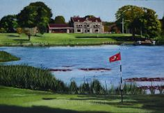 Malone 14th Green - Paintings