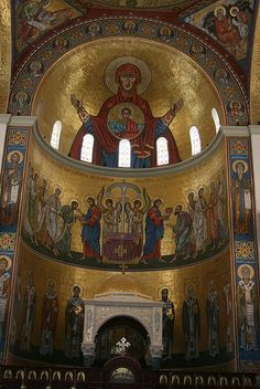 Holy Orthodox Church, Syria. One of the first Christians in the world are under attack by FOREIGN terrorists funded by Qatar & Saudi Arabia and trained by Turkey. Wouldn't you defend  your country against such people who behead and bite into a human heart in the name of religion! Tell your world leaders that you don't support and you don't want to fund this fake war. Time is of essence. Christians of Middle East are at peril if you remain silent!