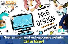 """Need help with your web design? Our experienced #web #designers at Rocket Marketing and Design will take care of everything from the planning and designing to the development and promotion of your #website. Contact us today, visit the link in our bio for more information! #WeAreRocketMAD . . . . . . . #seo #ppc #digital #internetmarketing #social #socialmedia #smallbusiness #miami #southflorida #customerservice #marketing #digitalmarketing #branding #webdesign #websites #customwebsite…"