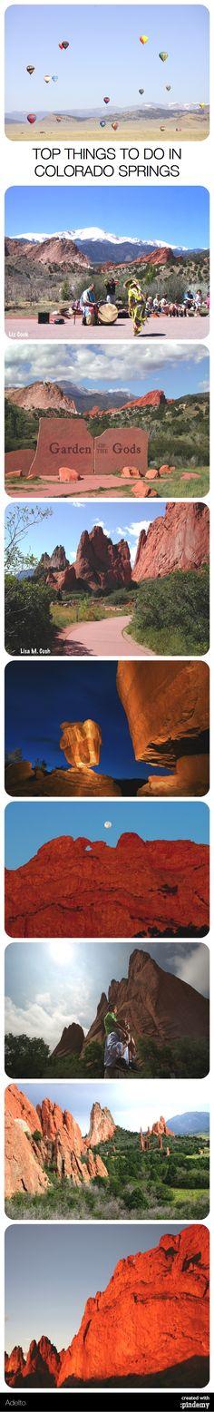 TOP THINGS TO DO IN COLORADO SPRINGS via http://pindemy.com/p/355/top-things-to-do-in-colorado-springs #sundayfunday #travel #escape #colorado