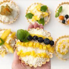 Tartaletky s pudinkovým krémem a ovocem | Recept - Diana Ella Fruit Salad, Diana, Blog, Fruit Salads