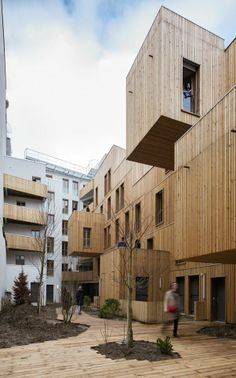 TETE EN L'AIR - Paris, France by KOZ architectes 30 SOCIAL HOUSING IN PARIS