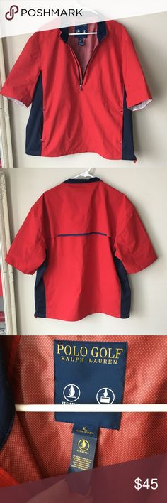 mens golf polo shirt ralph lauren water resistant Great condition Ralph Lauren Shirts Polos