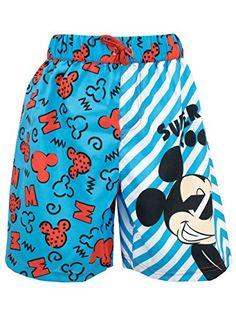 95a1c8f4f4 Amazon.com: Mickey Mouse Boys Disney Mickey Mouse Swim Shorts: Clothing
