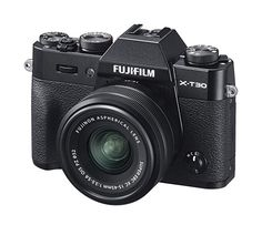 Fujifilm Mirrorless Digital Camera, Black with Fujinon Optical Image Stabilisation Power Zoom Lens kit, Black Nikon, Gopro, Kit, Distance Focale, Fuji X, Perfect Camera, Optical Image, Best Resolution, Colors