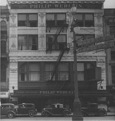 Philip Werlein's Music Store at 605 Canal Street in New Orleans, LA (image taken by Charles L. Franck Photographers, between 1930 and 1935)