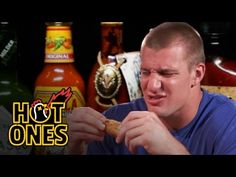 Gronk spikes chicken wing that's too spicy | New England Patriots