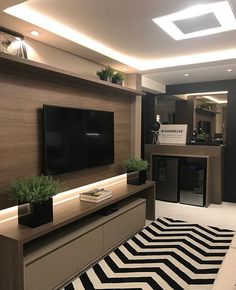 trendy home decoracin ideas living room tv stands Living Room Tv Unit Designs, Room Design, Living Room Decor, Home, Interior Design Living Room, Living Room Tv Unit, Tv Room Design, Tv In Bedroom, Living Room Designs