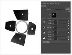 Using the Barndoor Light Filter (AiBarndoor) - Arnold for Maya Tutorials - Solid Angle
