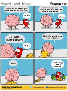 The Awkward Yeti » Chapters » Heart and Brain » Page: 6