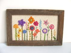 I want to save all the vintage needlework. Seriously though, this could be an Aimee Ray piece.
