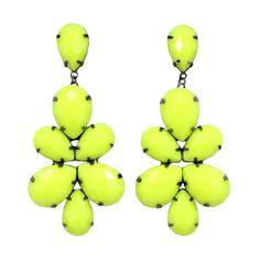 Brinco Maxi Neon - L'Essence Fashion - Roupas Femininas, Acessórios e Moda Praia